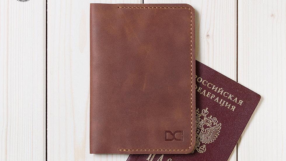 Органайзер для паспорта светло-коричневый