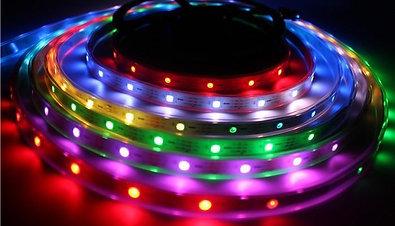 LED STRIP WS2812B/PCB Black