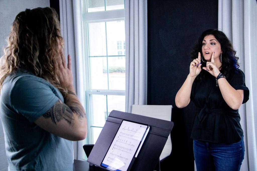 Melanie Galiardo Vocal Coach