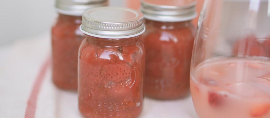 簡易草莓醬 | 釀酒的果渣別丟可以這樣做
