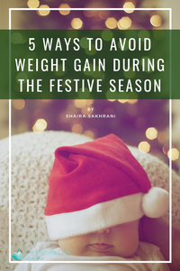 avoid weight gain in holidays