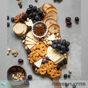 Game plan cheese platter