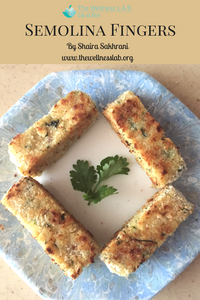 Easy vegetarian snack for adults or children