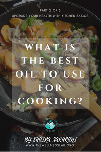 Confused about all the oils? Which is the best oil for cooking?