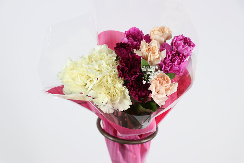 12 Stem Carnation Bouquet