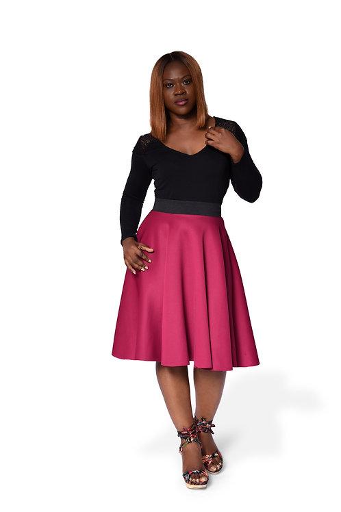 Full Circle Skirt (medium - Large Size)