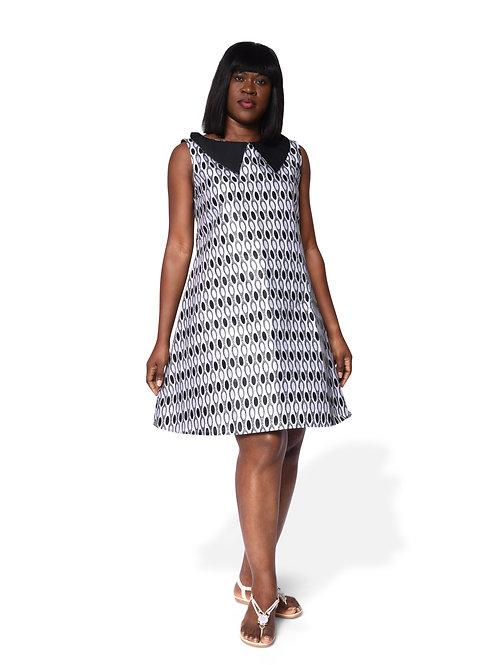 A-Print Dress