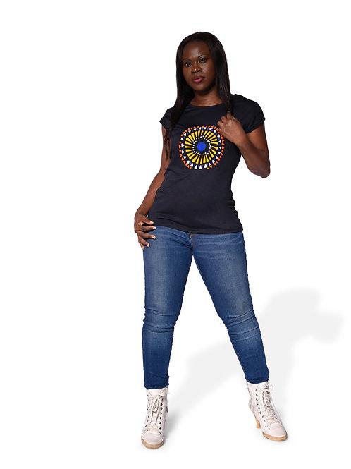 B-Print Ankara T-shirt