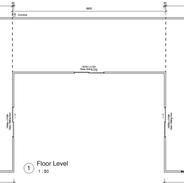 Triple unit skillion 9.9 x 3.6 mtr