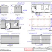 1 Bedroom 8 x 3.3 mtr unit