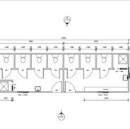 12 x 3.6 mtr Amenity block