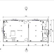 1 Bedroom 10 x 4.8 mtr unit