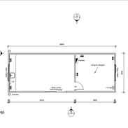 Office 9.9 x 3.6 mtr unit