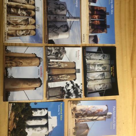 Silo postcards