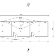 3 bedroom 12 x 3.6 mtr unit