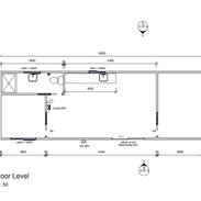 2 bedroom 12 x 4 mtr unit