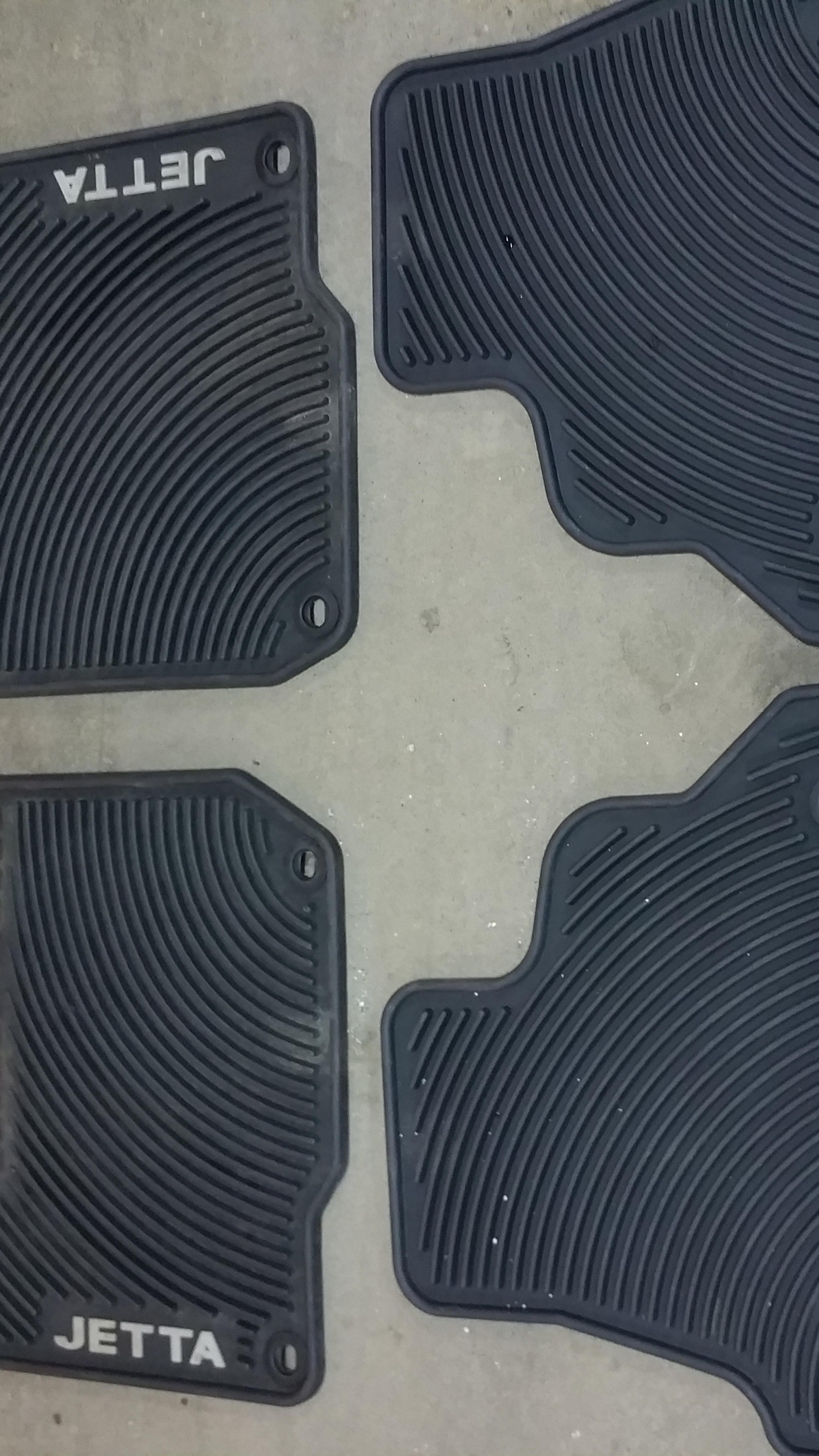 Rubber floor mats vw jetta - Autobahn Performance Vw Jetta Mk4 Rubber Floor Mats