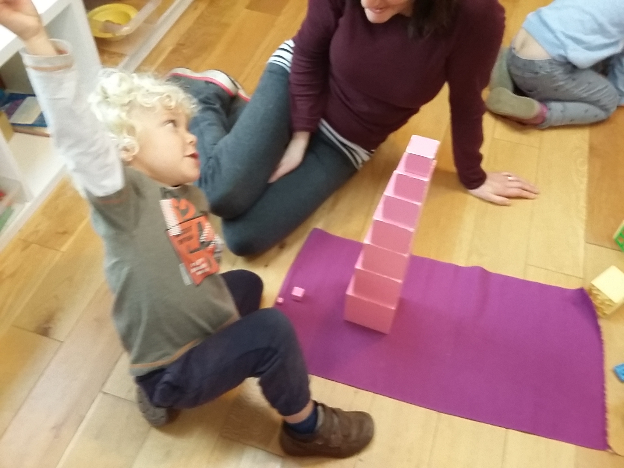 Pink Tower Triumph!