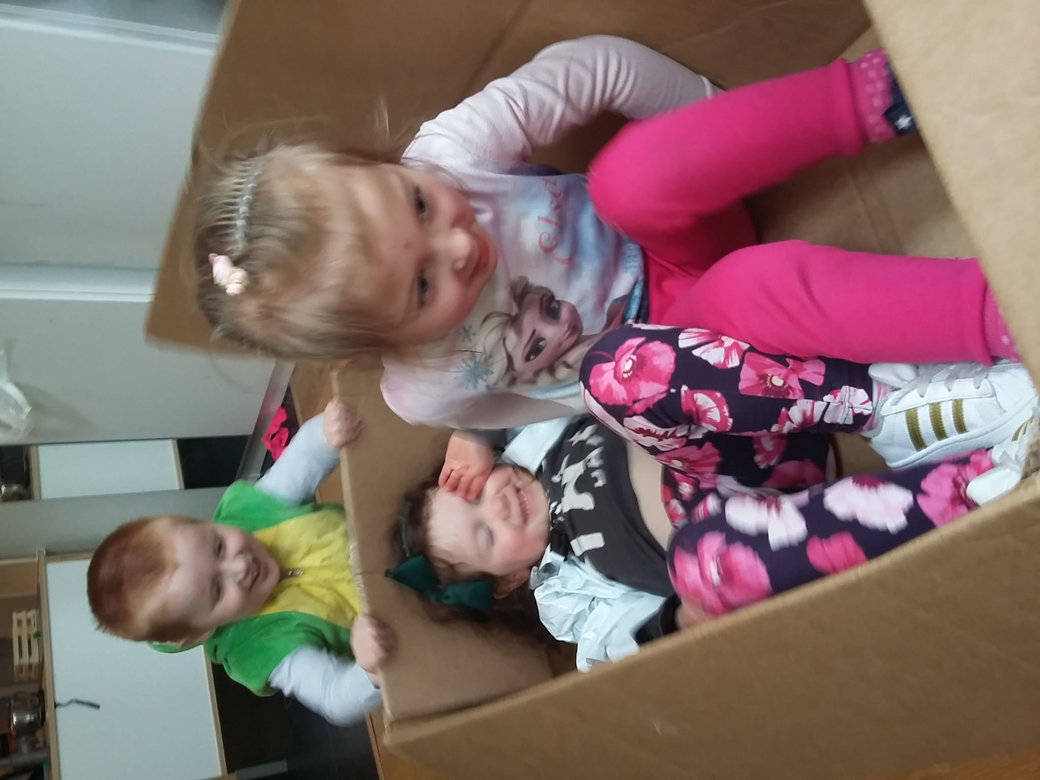 Who needs toys when you have a box!
