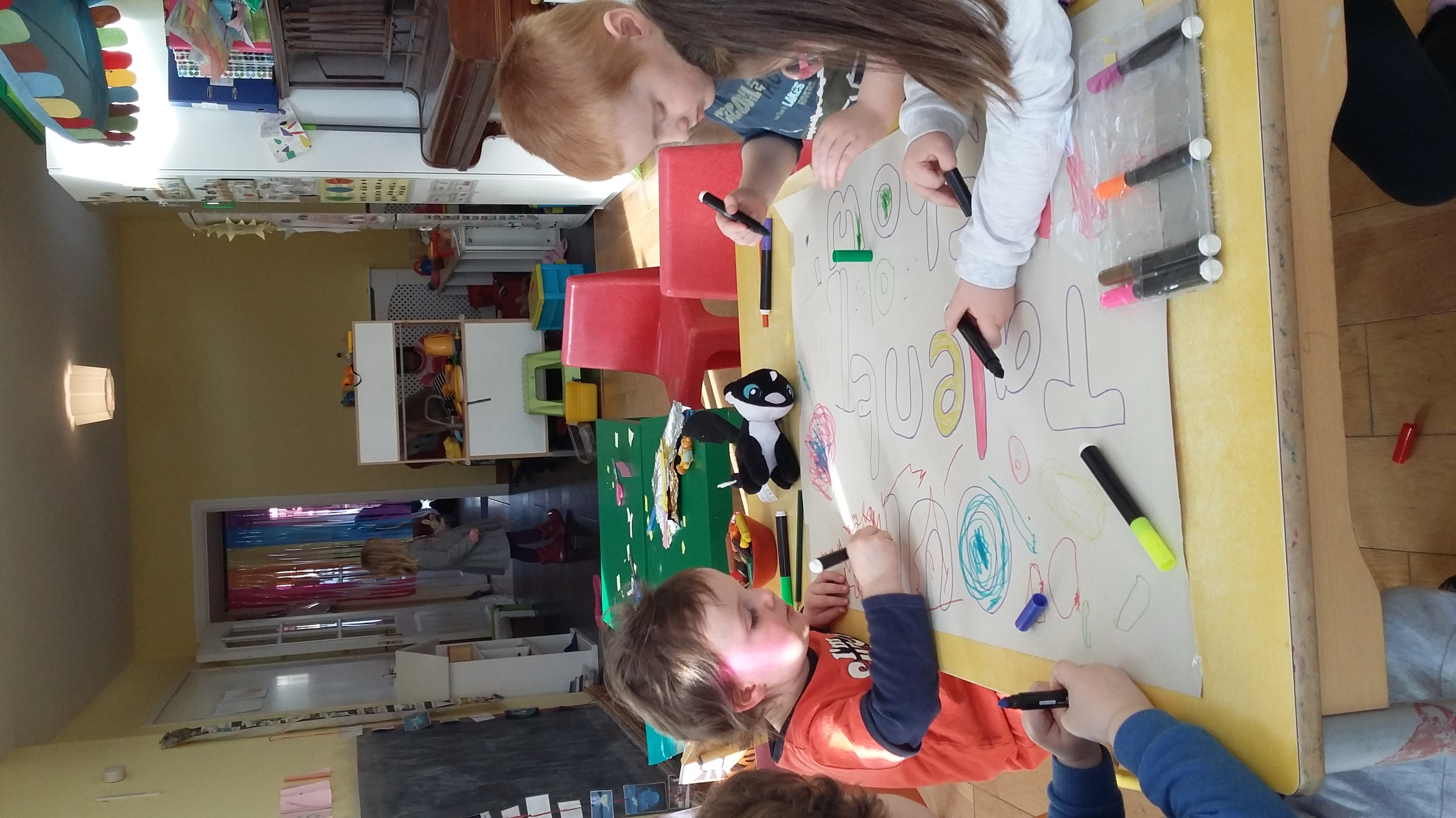 Group colouring in!
