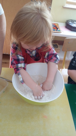 In the Flour!