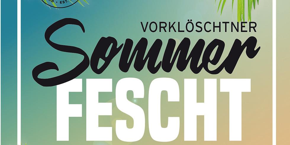 Vorklöschtner Sommerfest 14. Juli (21. Juli)
