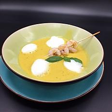 Kokos-Mango-Suppe