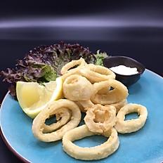 Calamari e Gamberi fritte