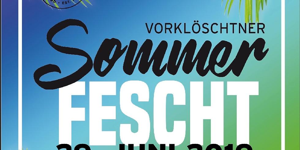 Vorklöschtner Sommerfest 2019