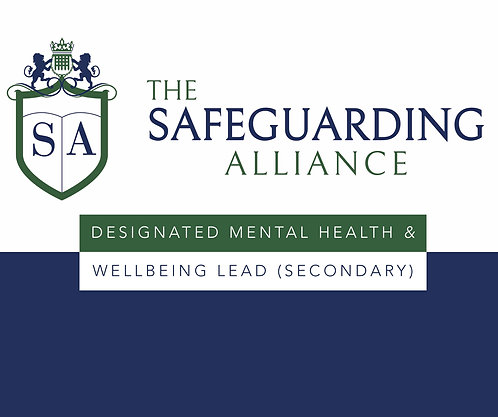 DESIGNATED MENTAL HEALTH AND WELLBEING LEAD (SECONDARY) LEVEL 3