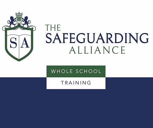 WHOLE SCHOOL CONTEXTUAL SAFEGUARDING TRAINING