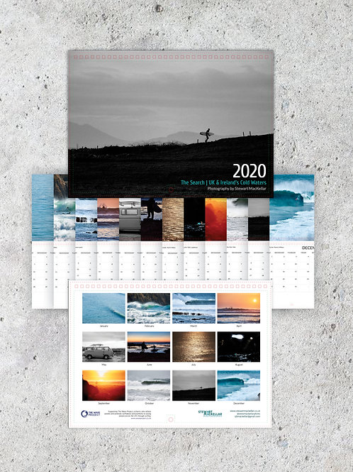 2020 Calendar - The Search | UK & Ireland Cold Waters