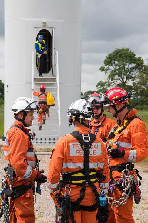Fire & Rescue Training - VATENFALL -