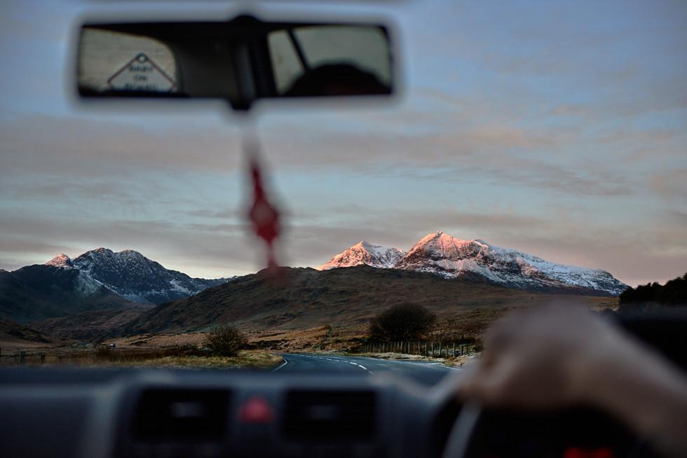 Tourism - The Drive Through Snowdonia