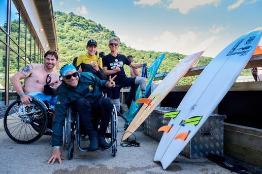 Adaptive Surf Comp - Adventure Parc Snowdonia