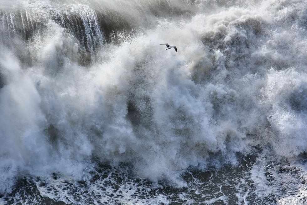 Porth Ceriad Storm - North Wales