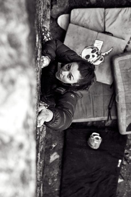 DMM Climbing athlete