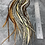 Thumbnail: Bulk Hair Feather Extensions Natural Mix Real Rooster Feathers 100 Pack