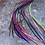 """Thumbnail: Bulk Hair Feathers Salon Pack 50 8-12"""" Rooster Feather Extensions All Colors"""