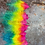 Thumbnail: 1 Rainbow Ostrich Feather Small a la carte Dreamcatchers Smudge Craft Feathers