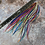 """Thumbnail: 50 10-14"""" all colors bulk hair feather extensions intro pack"""