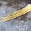 Thumbnail: 24 White Ginger Grizzly Rooster Feathers 4-17inch Fluffy Extra Long Craft Saddle