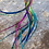 """Thumbnail: Rainbow Hair Feather Extensions XXL extra long 14-18"""" pack of 20"""