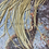 Thumbnail: 20 Light Tan Natural Rooster Feather Saddle Brown Hair Feathers