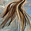 Thumbnail: XXL Natural Hair Feather Extensions Bulk 100 Pack Super Long Rooster Feathers