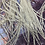 Thumbnail: 20 Light Grey Hair Feathers Long Slender Gray Feather Extension Solids