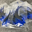 Thumbnail: Brightest Blue BLW Laced Rooster Craft Saddle Feathers 12