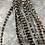 """Thumbnail: Wide Hair Feather Extensions Grizzly Rooster Feathers x10 14-16"""""""