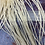 Thumbnail: Ghost Barred Milky White Creme Rooster Feathers for Hair or Crafts 20 pcs