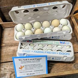 Wild Wood Women Farm Fresh Eggs